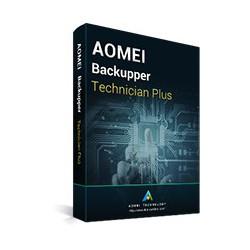 AOMEI Backupper Technician Plus + Lifetime Free Upgrades